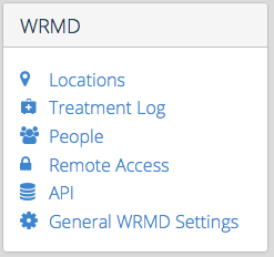 WRMD Settings