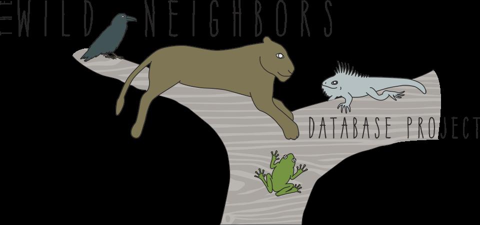 The Wild Neighbors Database Project